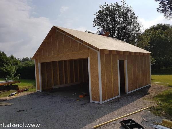 prix construction garage 40m2
