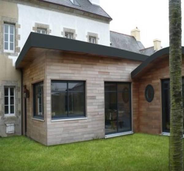 extension maison normande