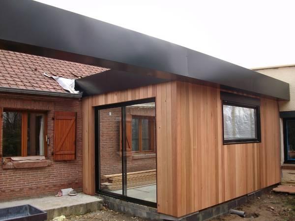 prix extension maison bois