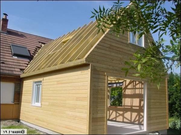 prix extension maison 15m2 en bois