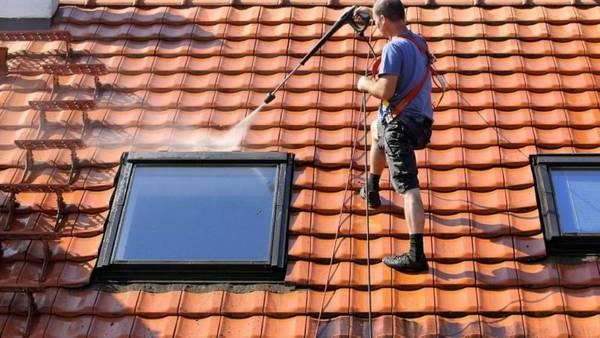 prix du nettoyage d'un toit