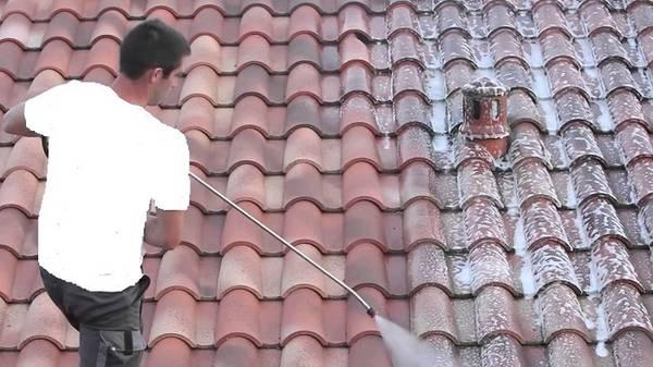 prix traitement demoussage toit