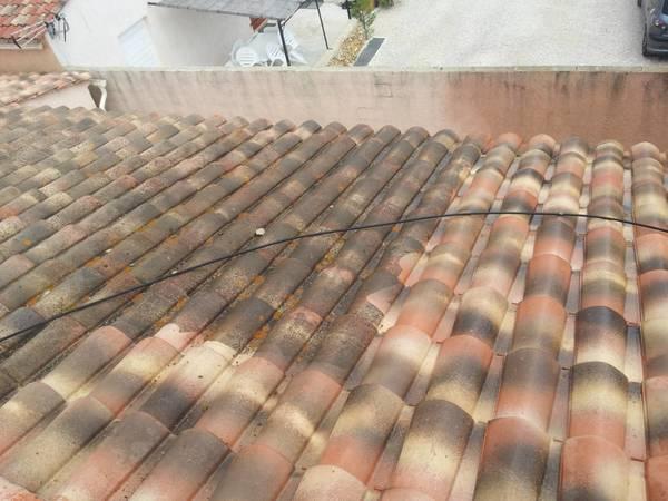 prix nettoyage toiture hydrofuge tuile terre cuite
