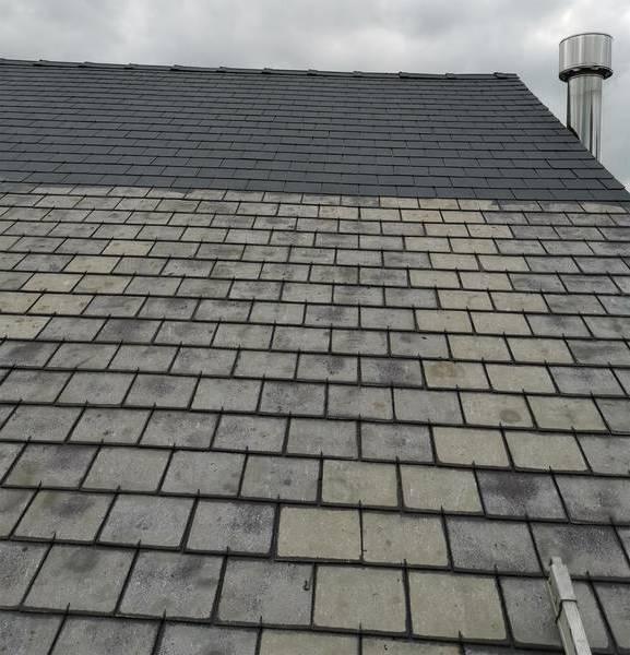 prix nettoyage demoussage toiture