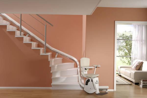 monte escalier intérieur