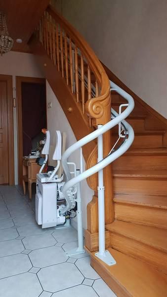 monte escalier interieur prix