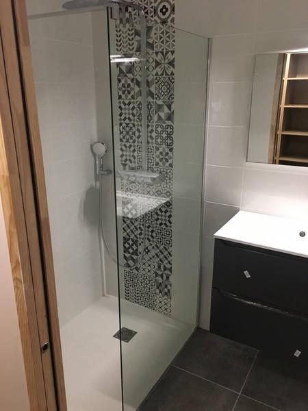 prix main d'oeuvre douche à l'italienne