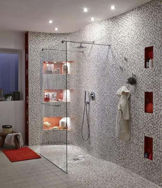 construire une douche à l'italienne