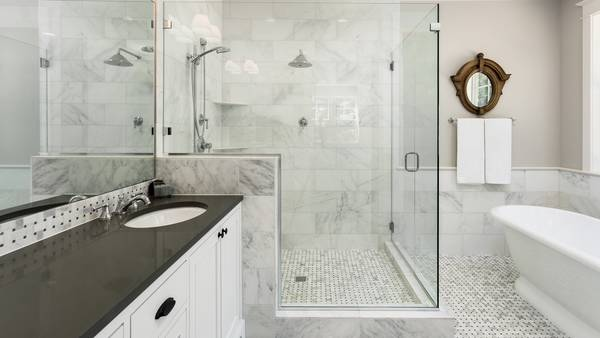 douche à l'italienne surélevée