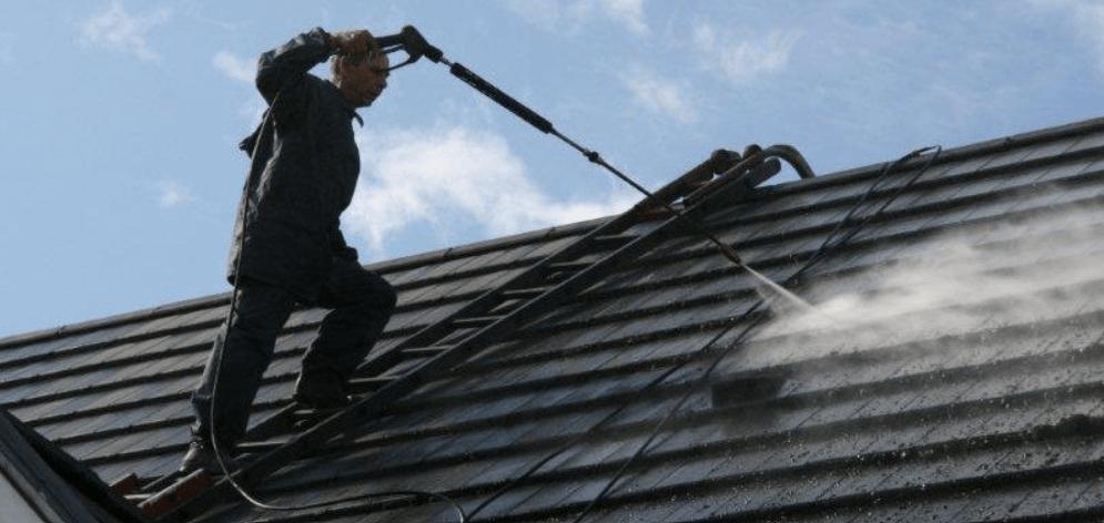 démoussage toiture ardoises